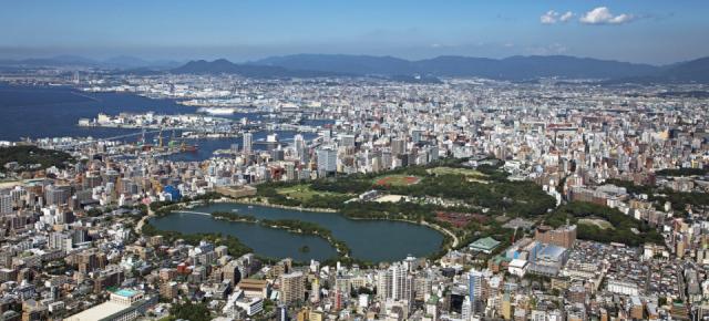 Le parc Ohori (大濠公園)